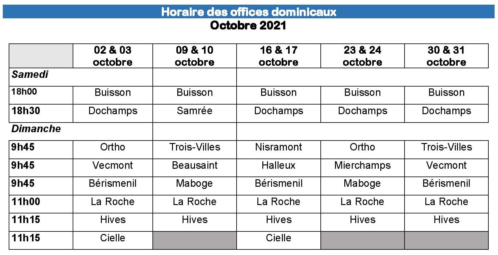 Horaire des offices dominicaux octobre 2021-page-001